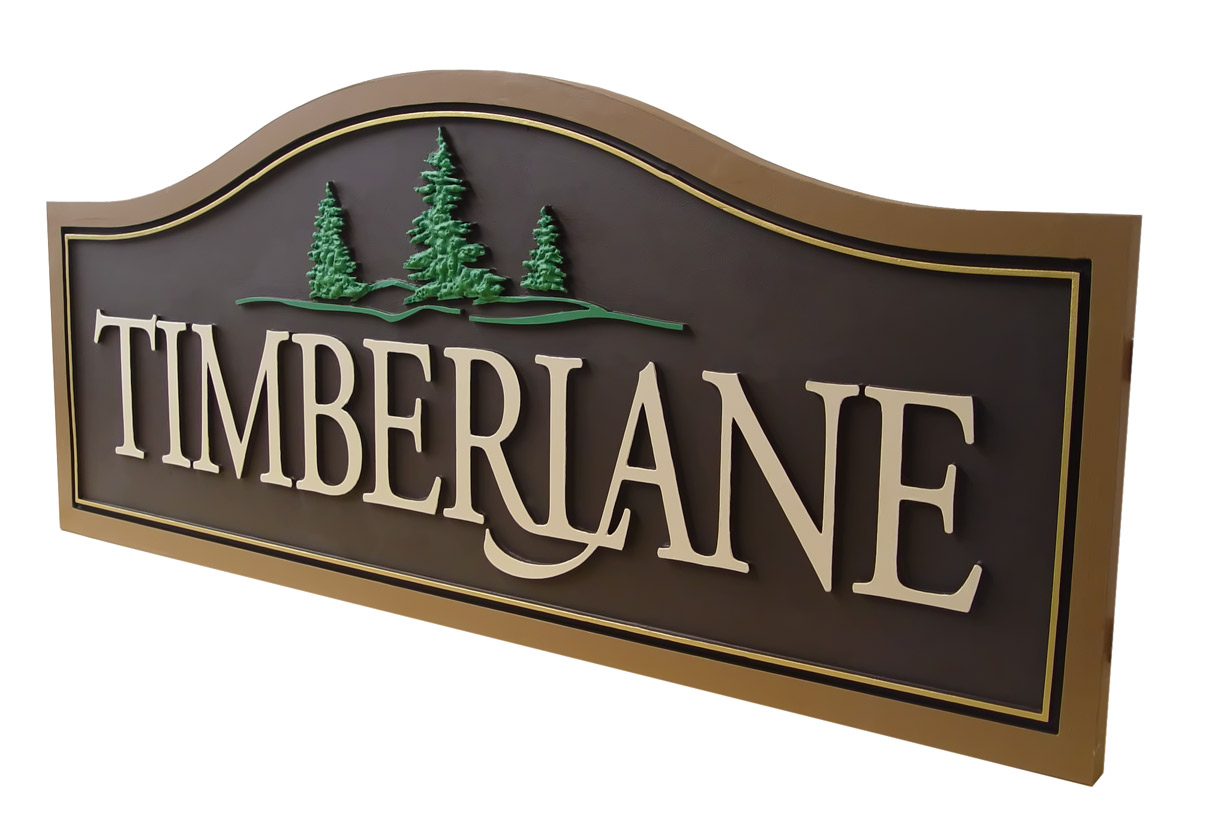 residential signs custom made sign chicago strata